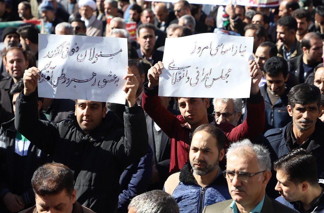 حضور پرشور مردم زرین شهر در راهپیمایی 22 بهمن