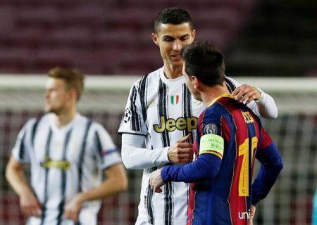رونالدو به مسی رای داد اما لئو نه!