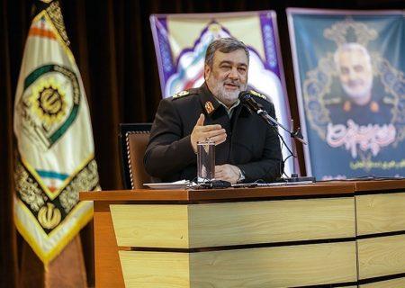 سردار اشتری: نیروی انتظامی با تمام توان در خدمت ستاد ملی مقابله بود