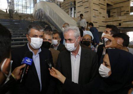 وزیر راه: ایستگاه خاوران راهآهن تبریز – میانه عید غدیر افتتاح میشود