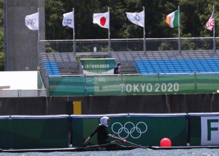 نازنین ملایی به فینال B  رویینگ المپیک توکیو صعود  کرد